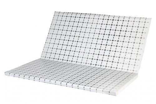 Полотно с разметкой (полотно либо метализированная пленка) (толщ.55 мкр) без пенопласта, м² 2