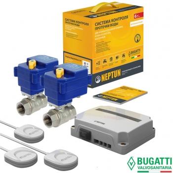 Система защиты от потопа СКПВ Neptun Bugatti Base 220B 3/4 (проводная)