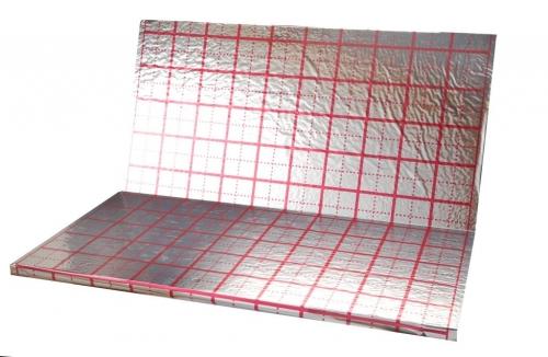 Полотно с разметкой (полотно либо метализированная пленка) (толщ.55 мкр) без пенопласта, м²